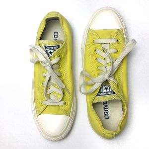 CONVERSE Chuck Taylor's Yellow Low Tops
